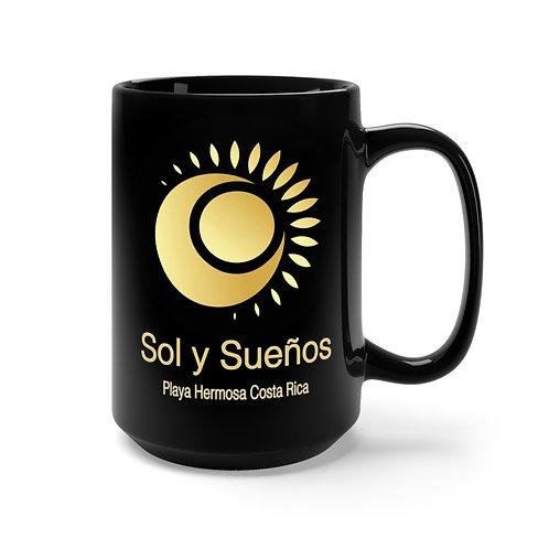 Sol y Suenos - Black Mug 15oz