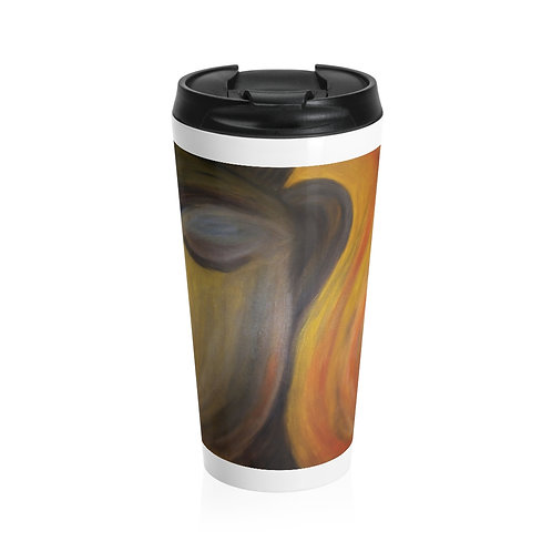 Moment of Peace - Stainless Steel Travel Mug