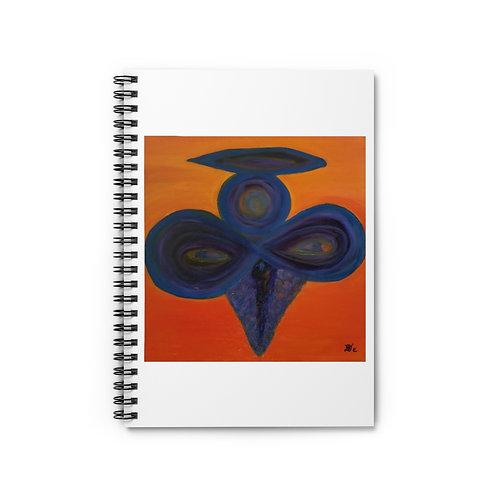 Dark Angel  - Spiral Notebook - Ruled Line