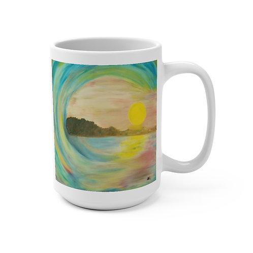 Sunset Wave - Mug 15oz