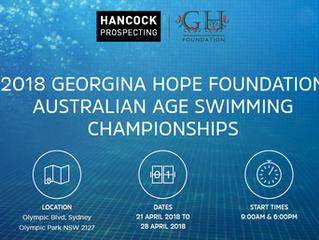2018 GHF Australian Age Swim Championships