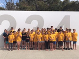 Breakers Visit Mandurah Swim Club