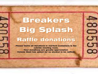 Big Splash 2 - Raffle Items Needed!!