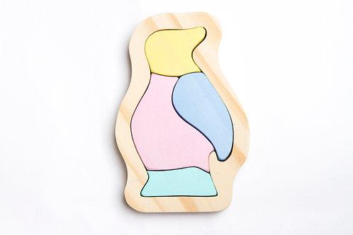 PUZZLE PINGUINO (Linea Pastel)