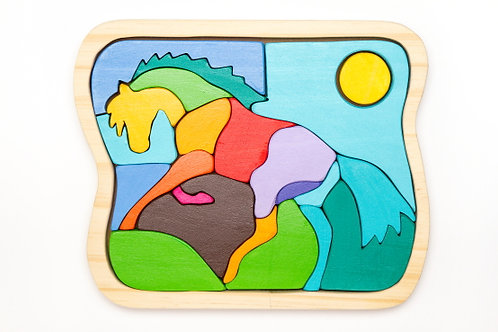 PUZZLE GALOPE