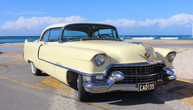 1955 Cadillac - Hire for Branding, Promotions Weddings Events