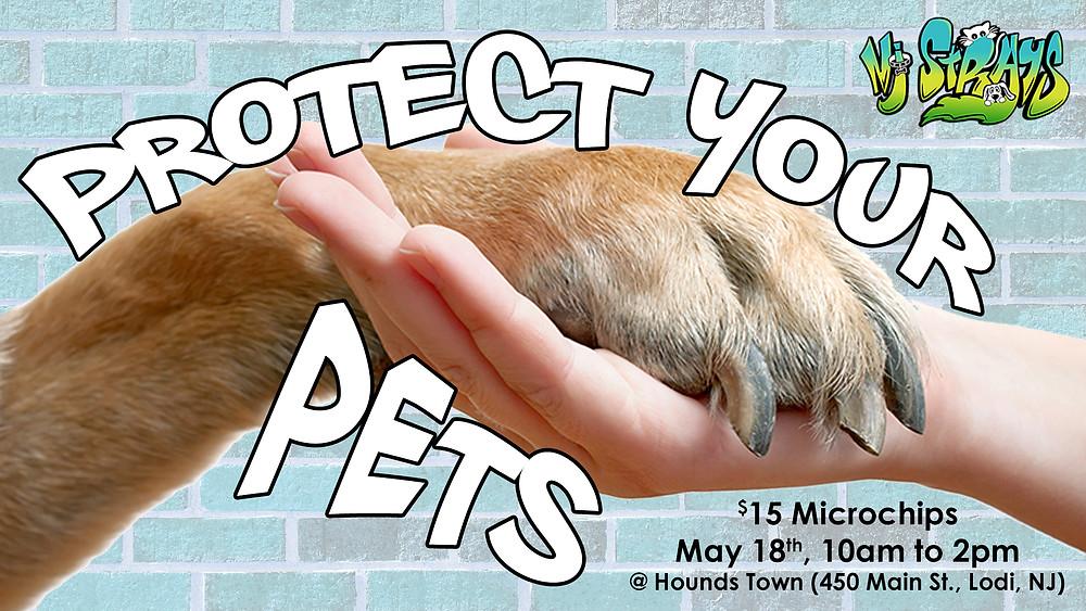 Microchip your pet in Lodi, NewJersey!