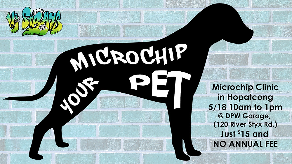 Microchip your pet in Hopatcong, New Jersey!