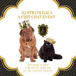 Support New Jersey's best animal charity at the 2017 NJ STRAYS Gala event!
