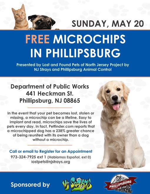 FULL!!! FREE Microchip Clinic