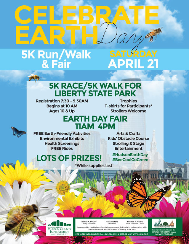 Earth Day 2018 in Liberty State Park, Jersey City