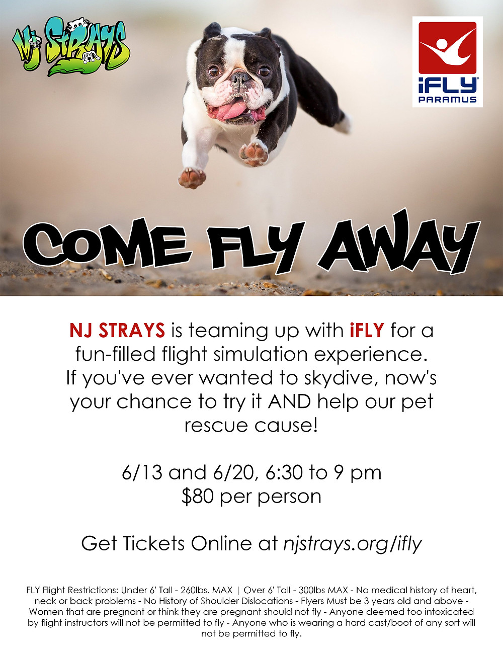 Join us for high-flying fun to support our animal rescue mission.