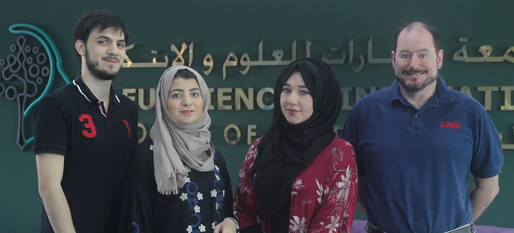 Yahya Iqelan, Fatima Iqelan, Shahd Alabadla & Steve Kranz.