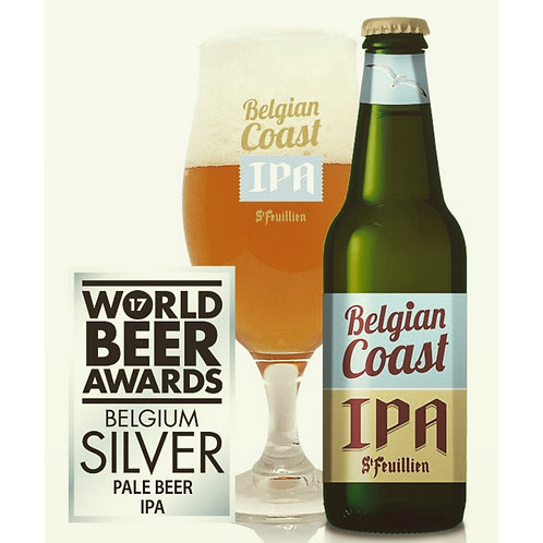 Belgian Coast IPA - bouteille & verre