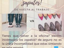 de pantuflas a zapatos
