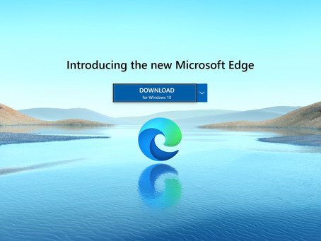 New Microsoft Edge is now available for download.