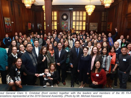 Filipino American General Assembly at the Consulate NY