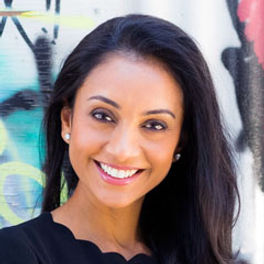 """Dulari Amin is co-founder of Synergy Ventures, an evergreen venture-fund and business strategy think-tank. She invests in and is an advisor to early stage and growth companies. Her focus is 'better-for-you"""" consumer brands and disruptive technologies.  She has invested in over a dozen companies with valuations from $10M to $800M. Previously, Dulari was co-founder and president of Phenomenon, a brand strategy and creative agency. From 2006-2017, Dulari boot-strapped the company from ground up to over 120 employees and ~$100M in fee revenue. Her clients included some of the most recognized brands in the world. During her 10-year leadership, the agency won several awards—The Webby, Clio, and Cannes Lion. The company was featured in Ad Week's Agency 3.0 list, in Inc. 500, and recognized as LA's Top 100 Digital Companies. Dulari started her career at Dentsu working in the network's high-growth agencies in NYC and New Delhi.  Dulari was featured in Advertising Age's under 30."""