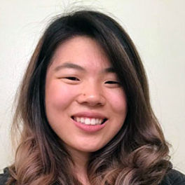 Jessica Iwamoto is an electrical engineer at The Aerospace Corporation. She graduated from Harvey Mudd College in 2016 with a BS in Engineering and received her MS in Electrical Engineering from UCLA. She has been working on digital communications systems, such as designing GPS receivers and satellite communication systems, at Aerospace for the past 3 years.