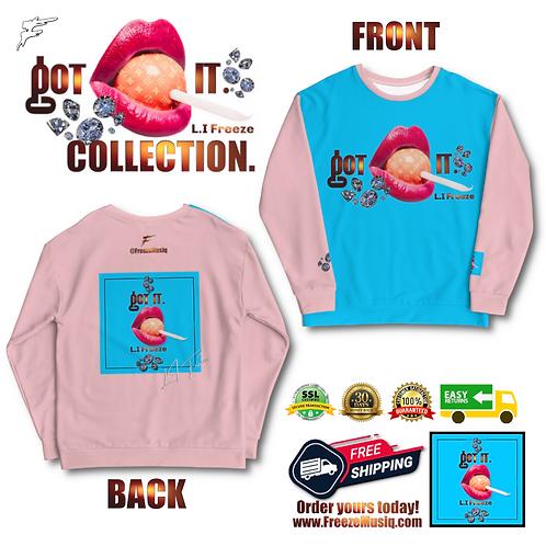 Got It | Fanta Sweater | Hand Sewn | Unisex