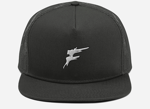 | F Collection | Classic Back Snapback | Large F Slash | Embroidered | His