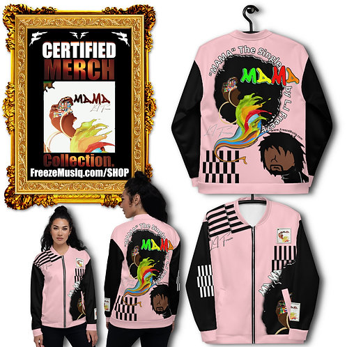 Album Merch | MAMA | Black Fro Swag Jacket | Pink | Unisex