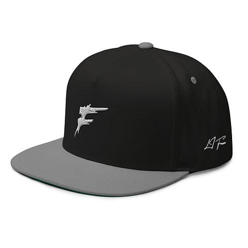   F Collection   Classic Flat Bill Cap  