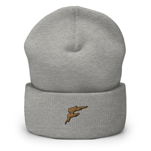 | F Collection | Limited Edition Popped F Bean w/ Gold Logo | Embroidered