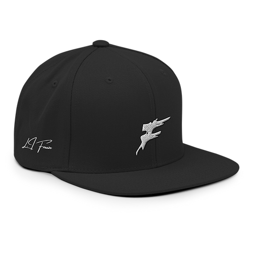 | F Collection | F Slash Snapback | Large Logo | Embroidered