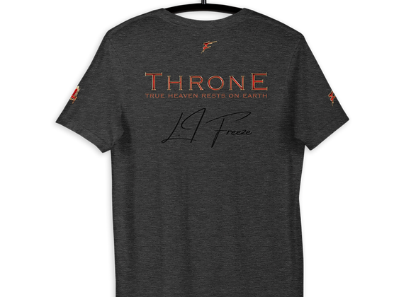 SIGNATURE SERIES | Merch Collection | T.H.R.O.N.E | True Heaven Fitted T |Unisex