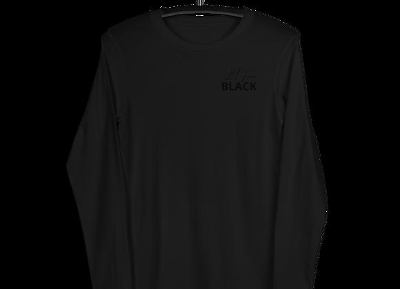 *SIGNATURE SERIES Album Merch | BLACK | Simply Black Long-Sleeve