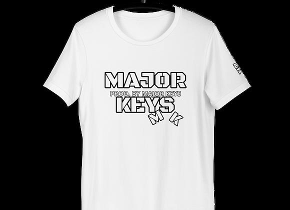 *SIGNATURE SERIES | Album Merch | Major Keys | MK Short-Sleeve Unisex Tee