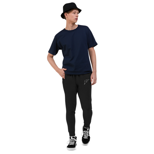 | F Collection | Premium Skinny Joggs | Fitted | Cuffed | Unisex | Embroidered