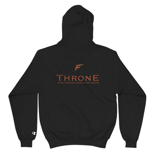 | Album Merch | Throne | True Heaven Authentic Champion Hoodie