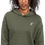Thumbnail:  | F Collection | Crop Hoodie | Dropped shoulder | Embroidered | HERS