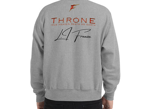 *SIGNATURE SERIES   Album Merch   THRONE   True Heaven Champion Sweatshirt