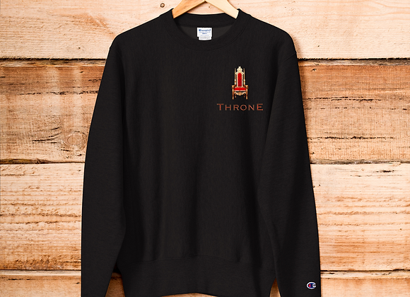 | Album Merch | THRONE | True Heaven Champion Sweatshirt | Print