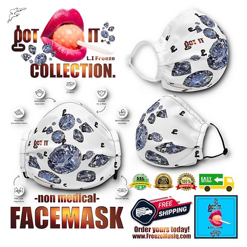 Got It | WhiteDiamond | non medical FaceMask
