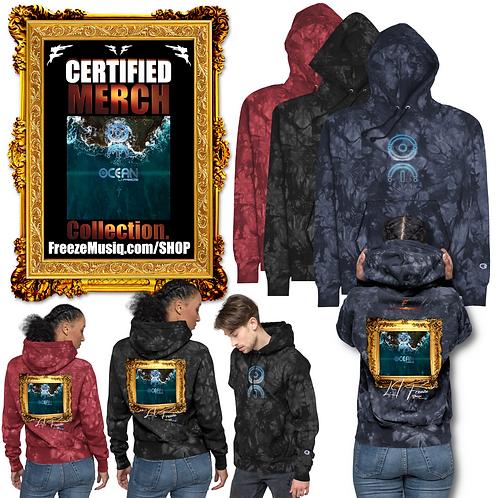 Album Art | Ocean | Champion tie-dye hoodie | Unisex