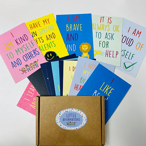 Children's Positive Affirmation Cards