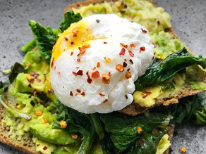 Baked Eggs with Avocado