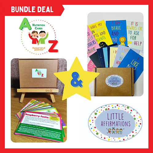 A-Z & Affirmation Cards Bundle Deal