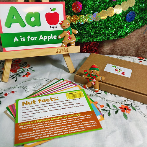A-Z Nutrition Card Bundle Christmas Deal (3 pack)