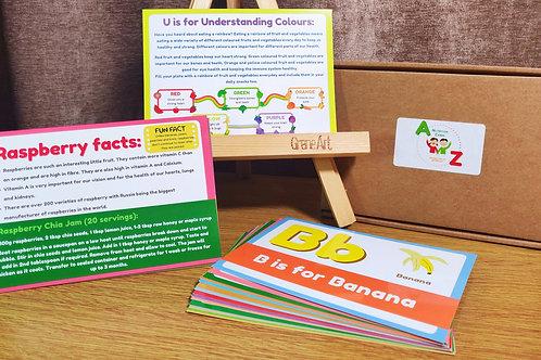 A-Z Nutrition Cards
