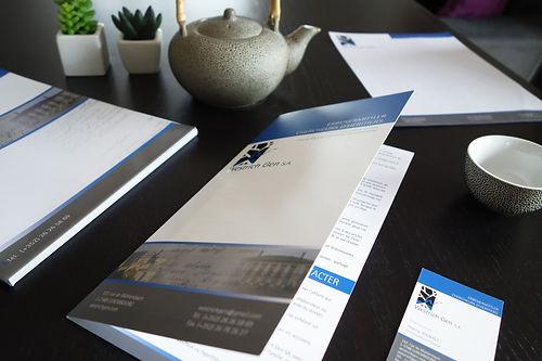 Impulsion graphique, conception graphique graphiste freelance Alsace print flyer brochure plaquette commerciale