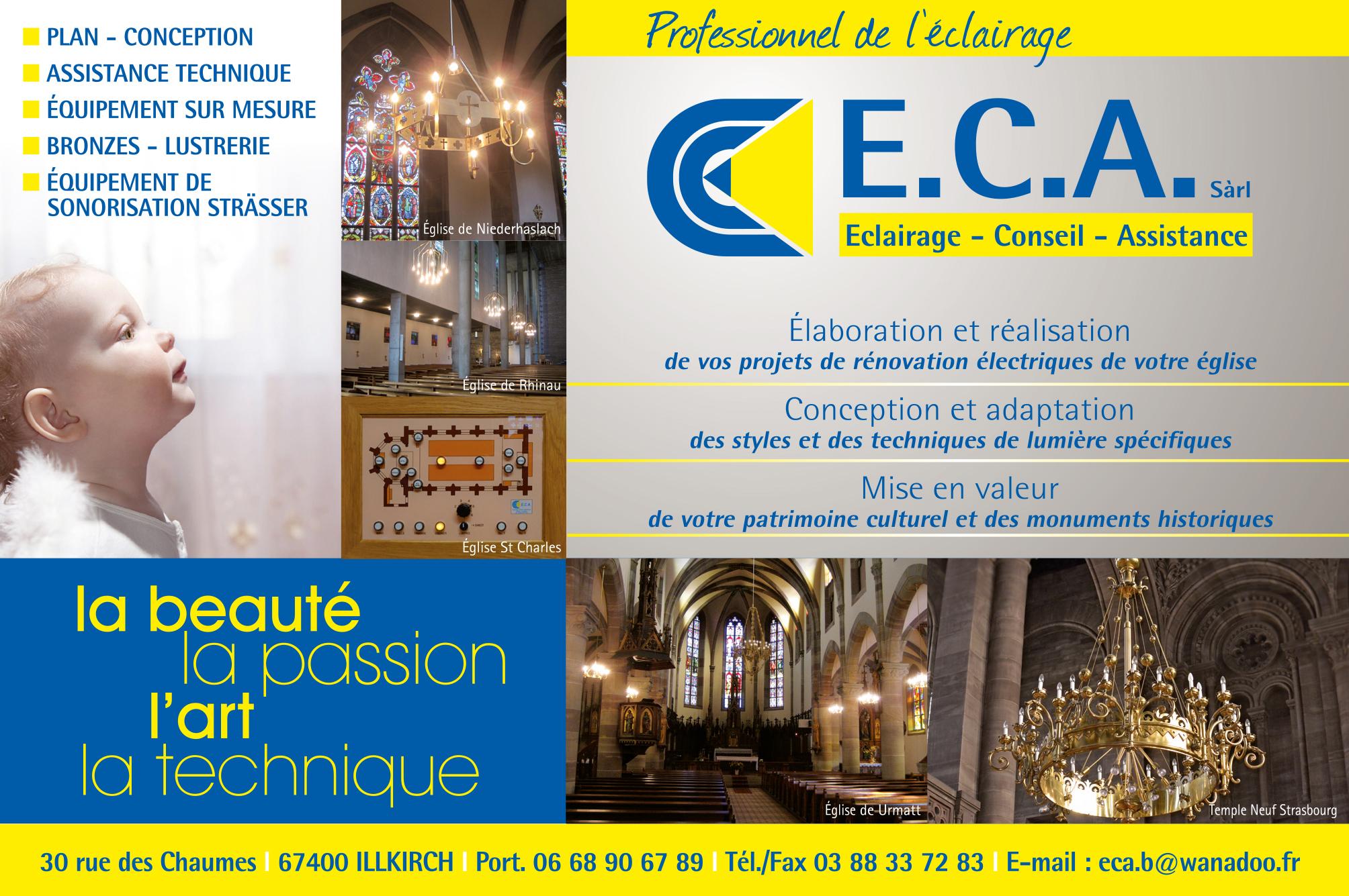 ECA encart pub