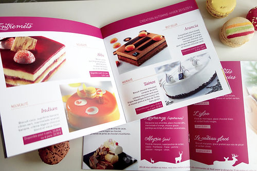 Impulsion graphique, conception graphique graphiste freelance Alsace print flyer brochure pâtisserie Ziegler