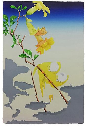 LR_double bird (after Hiroshige) 2_2020_