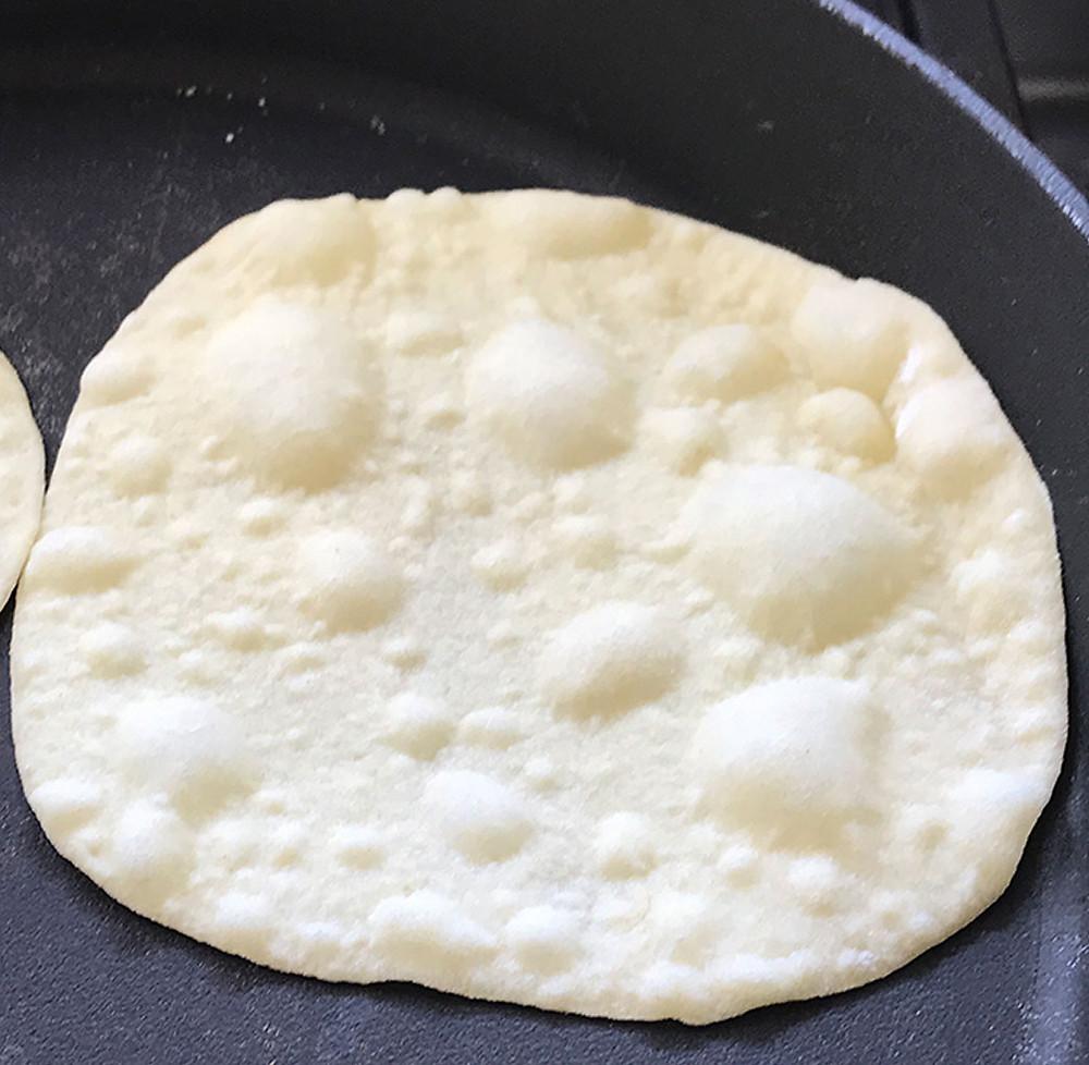 טורטיה במחבת