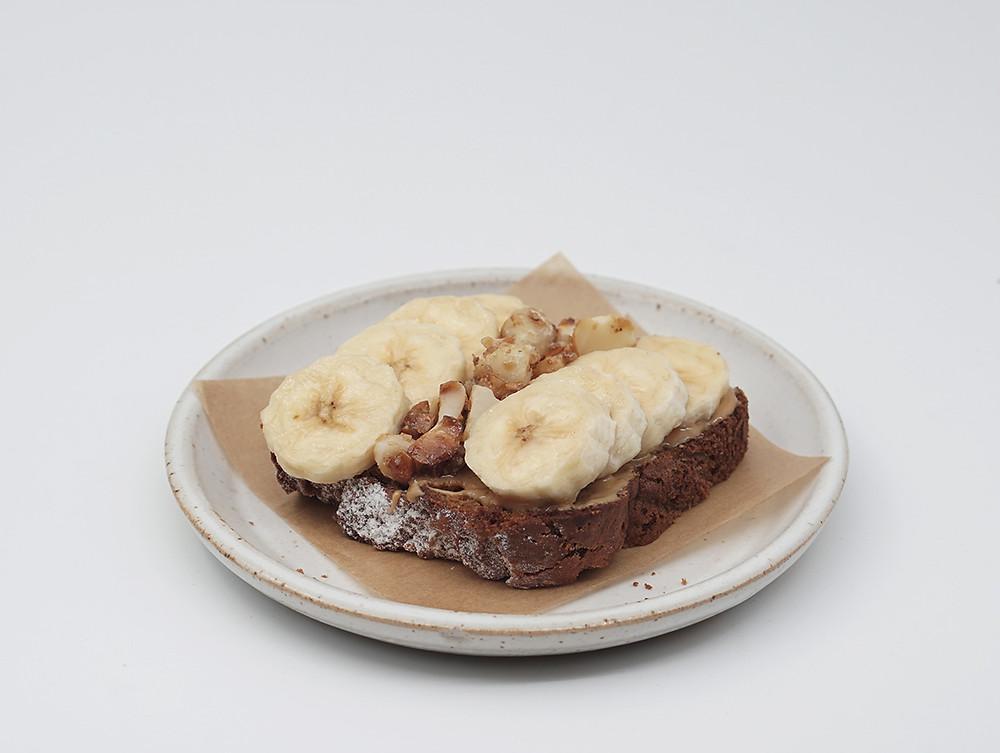 טוסט לחם בננה, טוסט בננה ברד